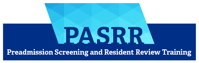 Image of the HHS PASRR logo